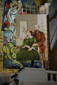 Portrait of St. Therese's parents