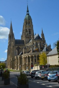 Cathedral de Notre Dame in Bayeux