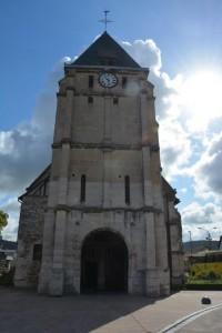L'Eglise de Pere Jacques Hamel - Saint Etienne du Rouvray