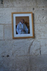 Father Jacques Hamel who was martyred last year by Islamist extremists.