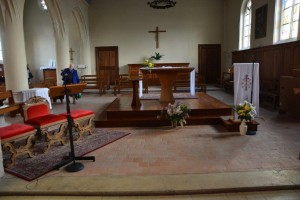 Where Mass was said by Father Jacques Hamel