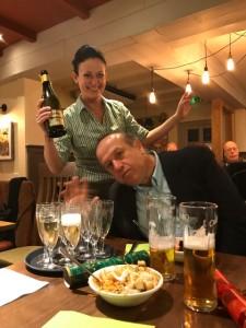 Waitress with Michael Oraha