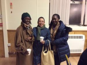 Nelima Wandera, Emmie Gamalinda and Joy Wandera