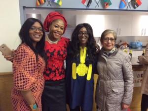 Genevieve Ozor, Ngozi Arinze, Tayo Adekeye and Jyoti Ramchand