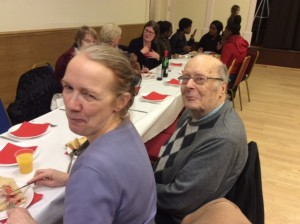 Ruth Hill and Father John Helm (our Retired Priest)