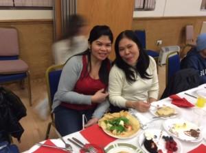 Me-Ann Tapleras and Vangie Bisnar