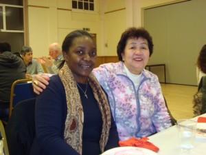 Joy Wandera and Zenaida Pambueno