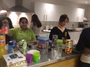 Sonia Marin and Shahnaz Alfaioli