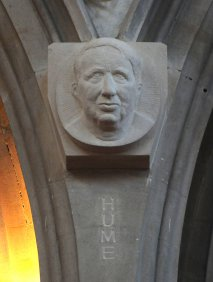 Cardinal Hume - the former Archbishop of Westminster who celebrated Mass at St Edward's, and preached his last sermon there shortly before his death.