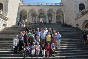 At Monte Cassino (Benedictine Monastery)