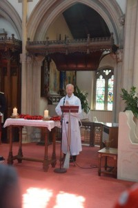 David Lawrence, Deacon in formation
