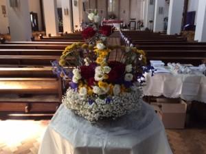 Display facing the Altar