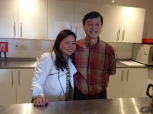 Rita Nolasco and Cornelius Yap