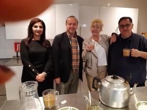 Baida, Michael, Sylvie & Adnan Oraha