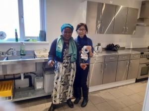 Mary Azeez & Diana Koh